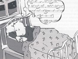"illustration ""le sommeil"" éd. Eyrolles"