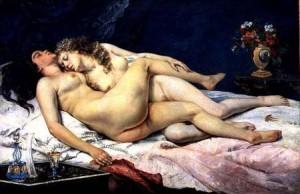 """""""Le sommeil"""" de Gustave Courbet"""
