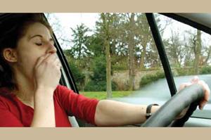 L'appel à la vigilance de la sécurité routière.