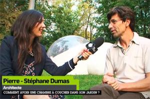 Elise Chassaing et Pierre-Stéphane Dumas (Canal plus)