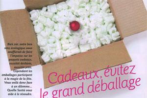 cp Magazine Quelle santé Décembre 2011