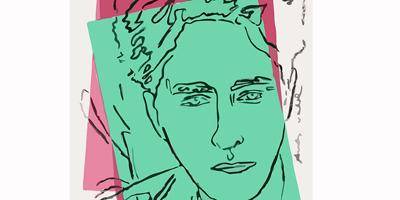 Jean Cocteau vu par Andy Warhol