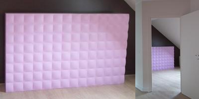tete de lit créée par Guillaume Verret