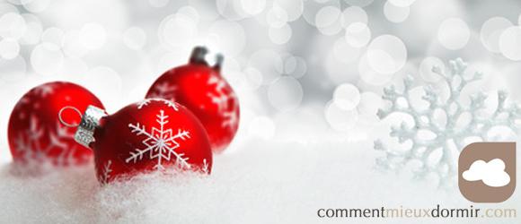 Toute l'éaquipe de comment mieux dormir vous souhaite d'excelentes fêtes de Noël