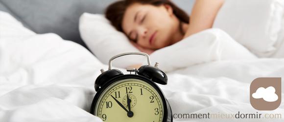 Les influences du changement d heure sur le sommeil