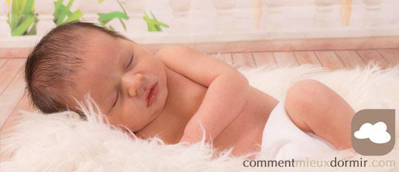 le temps de sommeil d'un bébé