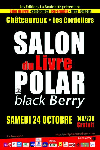 24 octobre 2015 salon du livre polar à Chateauroux