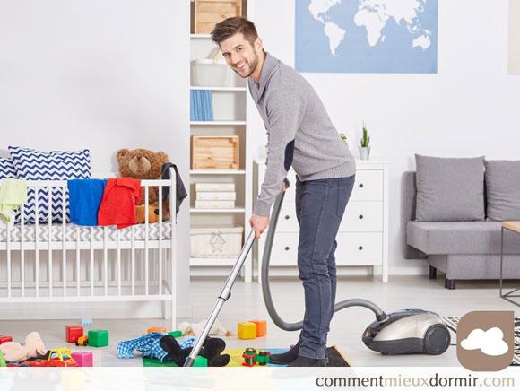 Conseils pratiques pour nettoyer la chambre