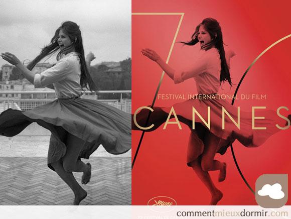 Affiche festival de cannes 2017 comparaison des photos de Claudia Cardinale