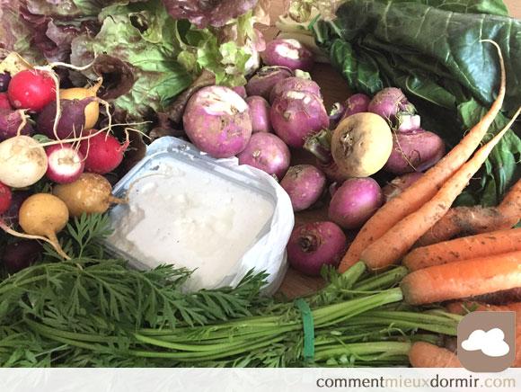 Ma vision des légumes bio