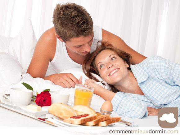 L'art du petit déjeuner au lit