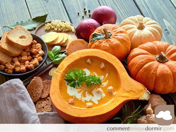 Bien se nourrir à l'automne.