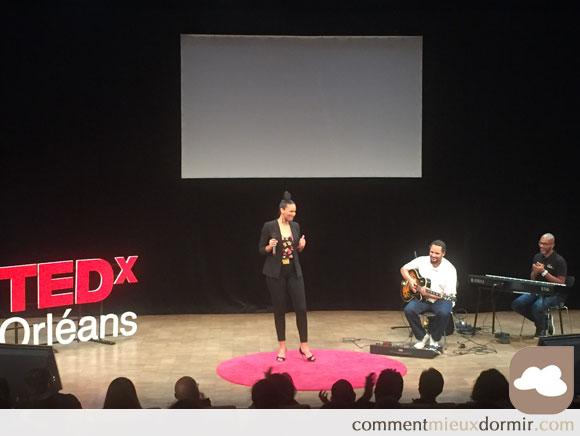 parenthèse musicale du TedX d'Orléans