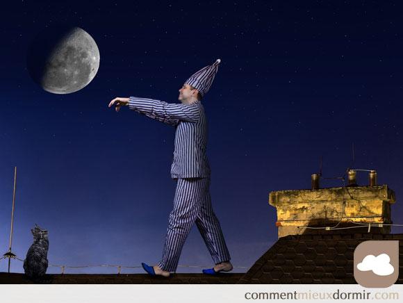 la nuit vécue par le somnambule