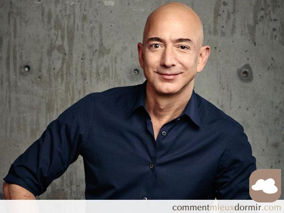 Jeff Bezos dort 8 heures par nuit