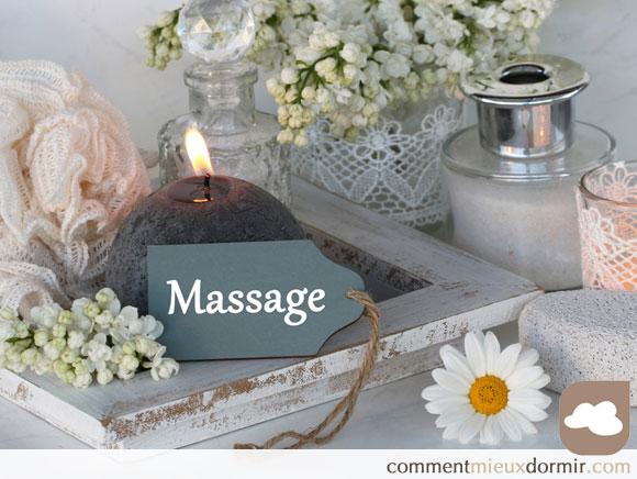massages pour mieux dormir