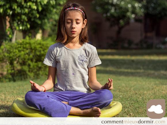 A l'école primaire, se démocratise la méditation