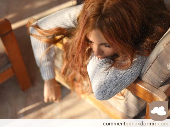 Difficile de s'endormir avec la toux