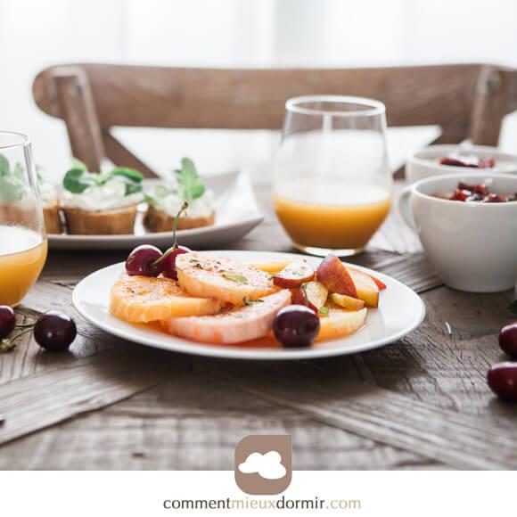 Rituel positif du matin, le petit déjeuner