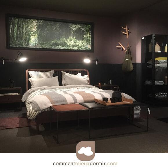 Chambre contemporaine, les tendances déco du salon Maison et ...